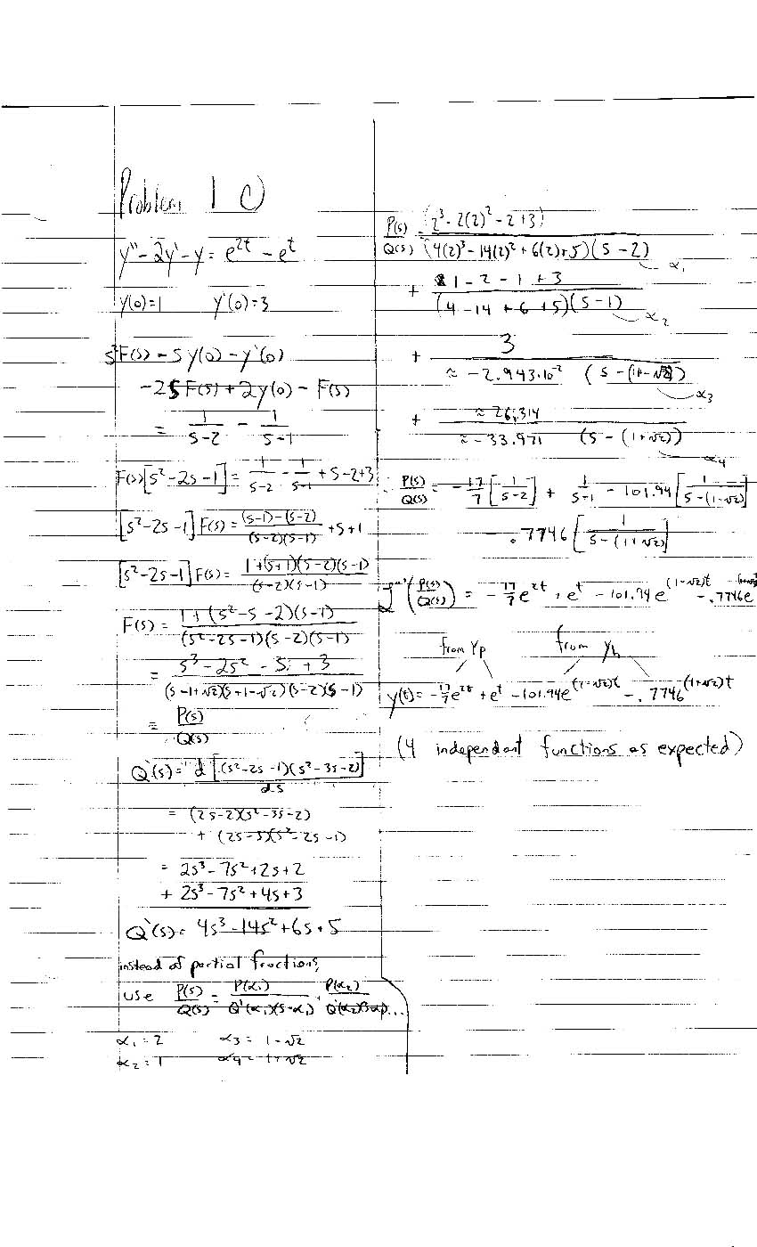 ma 265 homework assignment #7 solutions