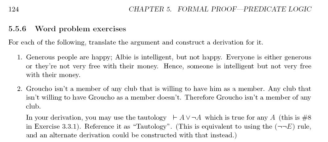 Maths Logic Course Materials